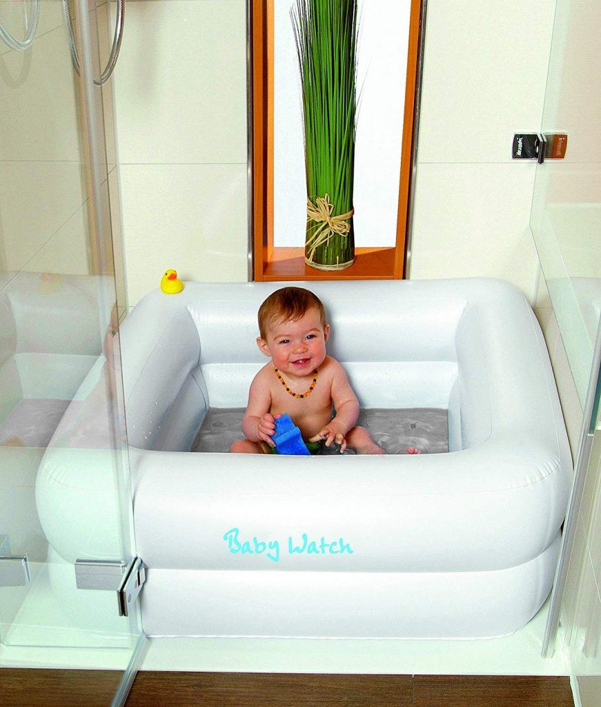 Friedola Baignoire pour bebe : facile d'utilisation même dans une douche